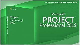 Microsoft Project Professional 2019 - رخصة مدى الحياة لجهاز كمبيوتر واحد
