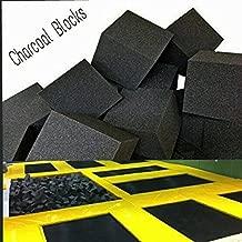 Isellfoam Foam Pits Cubes/Blocks 68 pcs. (Charcoal) 8