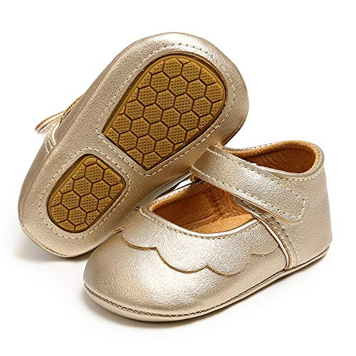 Gold Infant Shoes Size 0