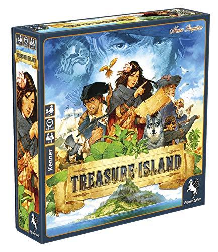 Pegasus Spiele 57025G - Treasure Island