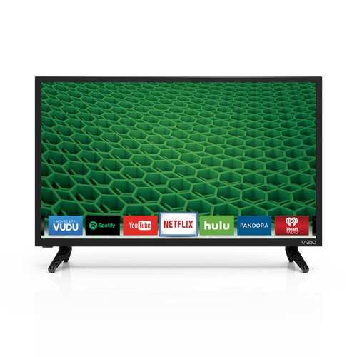 "VIZIO D24-D1 D-Series 24"" Class LED Smart TV (Black)"