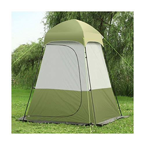 COOLLL Toilet Tents for Outdoors, Instant Portable Privacy Toilet Tents Pop Up Tent Camp for Camping Changing Room Rain Shelter with Window and Beach