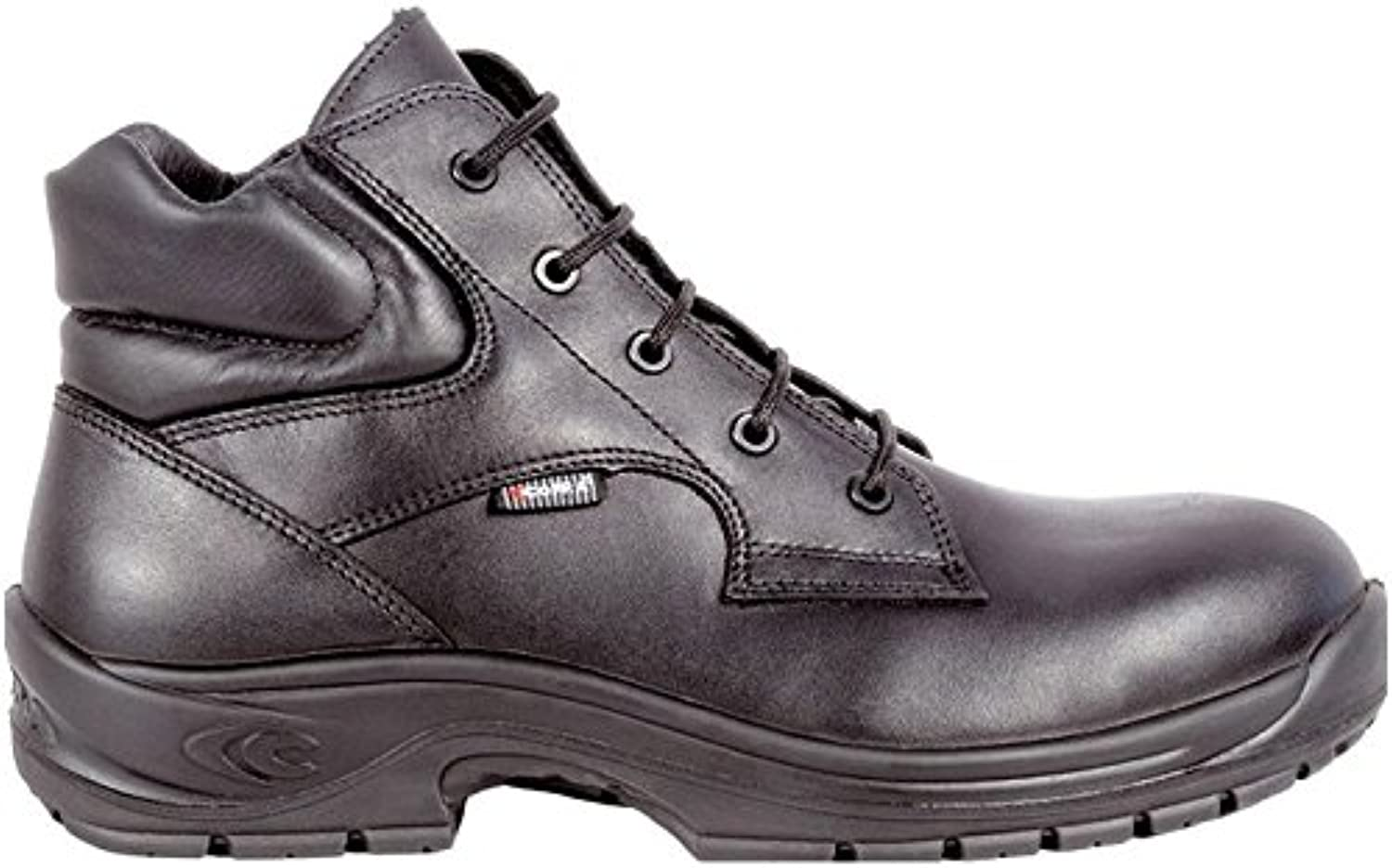 Cofra 10013-000.W39 Safety shoes Picket S3 HRO SRC Size 39 in Black
