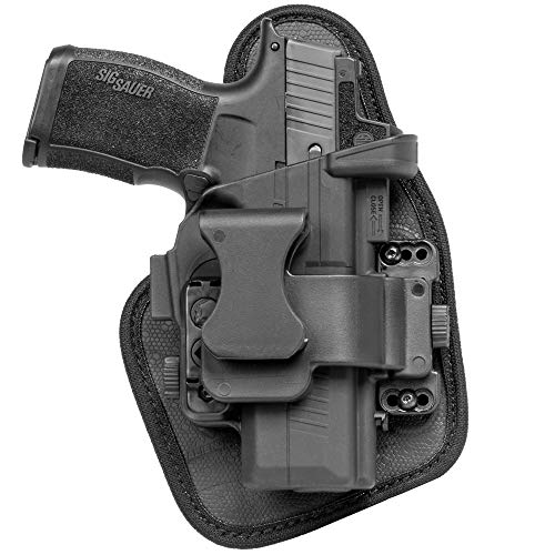 Alien Gear holsters ShapeShift Appendix Holster for Concealed Carry - Custom Fit to Your Gun (Select Pistol Size) - Right or Left Hand - Adjustable Retention - Made in The USA