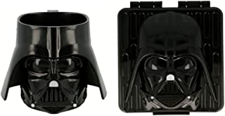 Star Wars 14. Sandwichera y taza 260ml 3D Darth Vader. Envío rápido.
