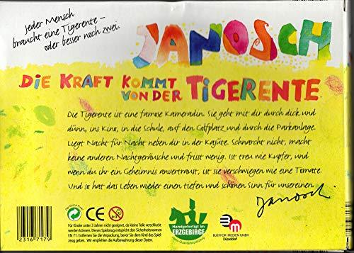 Janosch Tigerenten Doppelpack --- Die Kraft kommt von der Tigerente
