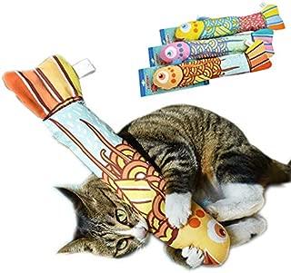Jooee Catnip Toys Fish Cat Kicker Toy for Indoor Kitten