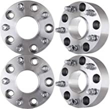 UCS Set of 4 Pcs 50mm Hubcentric Wheel Spacer Adapter Thickness: 2 inch / 50mm - Hub Bore Size: 77.8 mm - 5x5.5 to 5x5.5 9/16 Studs Fits Dodge Ram 1500 and More