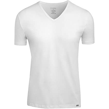 White L Jockey Mens Modern Stretch Cotton-Lycra T-Shirt Underwear