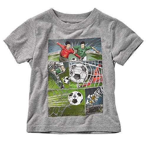 Werder Bremen Comic Kids T-Shirt (110-116, grau)
