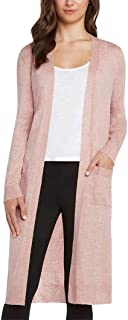 Women's Duster Open Front Knit Cardigan Small
