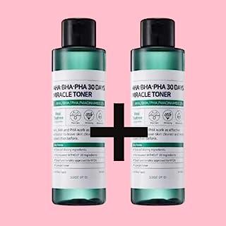 Ifactory SomeByMi Aha.Bha.Pha 30Days Miracle Toner 150ml (5oz) x2 Pcs Set Anti-acne Exfoliation Hydration Brightening (2 Pcs)