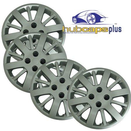 "Silver 15"" Hub Cap Wheel Covers for Chevrolet Cobalt - Set of 4"