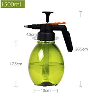Watering can Watering Cans Portable 1.5L Pneumatic Sprayer Spray Bottle Thickening Watering Kettle Plant Flowers Disinfection Gardening Tool Green Suitable For Indoor And Outdoor Watering Garden Suppl