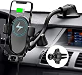 Mpow Car Mount Wireless Charger, Qi Car Charger 10W/7.5W/5W, Auto-Clamping Car Wireless Charger,...