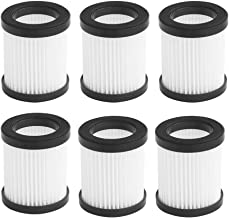 Replacement HEPA Fliter Compatible with MOOSOO XL-618A and M8-PRO Cordless Vacuum, High-Density HEPA 6 Pack