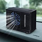12V/24V 35W Dual Input Mini Air Cooler Fan Water Ice Evaporative Portable Air