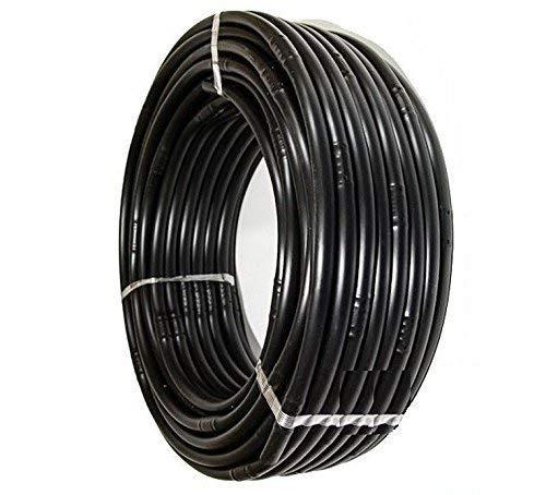 Suinga. TUBERIA negra 16mm con GOTEROS integrados cada 33 cm. Bobina de 100 METROS. Espesor pared 1,2 mm. Caudal 2,1 l/h. Tubería polietileno Agrícola de ALTA CALIDAD fabricada en España.