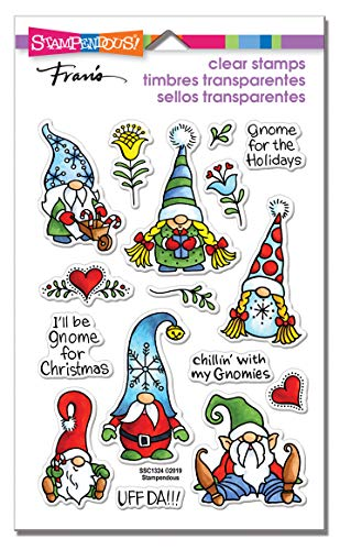 Stampendous SSC1324 Perfectly Clear Stamps-Holiday Gnomes