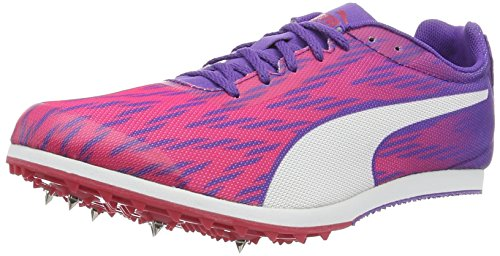 Puma Damen Evospeed Star 5 WN Laufschuhe, Rosa (Sparkling Cosmo-Electric Purple-Puma White 01), 42 EU