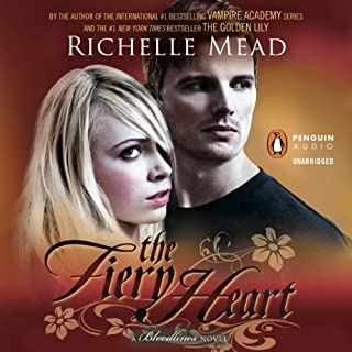 The Fiery Heart audiobook cover art