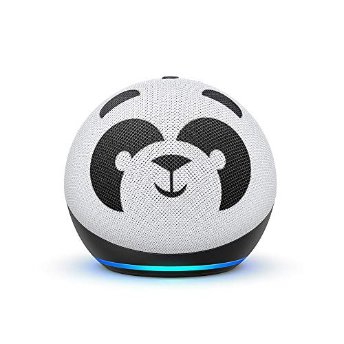 All-new Echo Dot (4th Gen) Kids Edition | Designed for kids, with parental controls | Panda