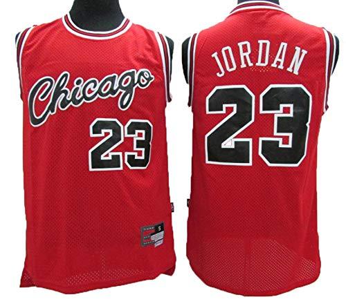 LLZYL Camiseta NBA Bulls 23# Jordan Vintage All-Star De Jersey para Hombre, con Un Tejido Fresco Y Transpirable, Camiseta De Baloncesto De Camiseta para Mujer,M:175cm/65~75kg