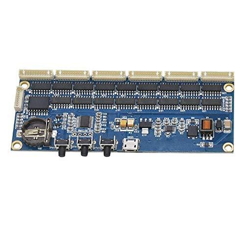CAIJINJIN Módulo Hogar en 14 QS30 IN12 Tubo Nixie Reloj Kit 5V Tablero del módulo Digital con Cable Plano