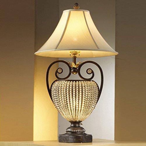 Bonne chose lampe de table Living Table Lampe Lampe de nuit Lampe de chevet Lampe de table rétro Lampe de table européenne Lampadaire décoratif en cristal