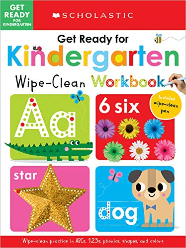 Get Ready for Kindergarten Wipe-Clean Workbook: Scholastic Early Learners (Wipe Clean)