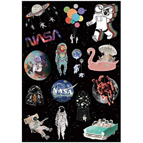 Astronaut Aerospace Persoonlijkheid Waterdichte Viskoffer Sticker Laptop Gitaar Sticker