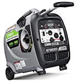 ENKEEO 2300W Generator Portable Inverter, Fuel...
