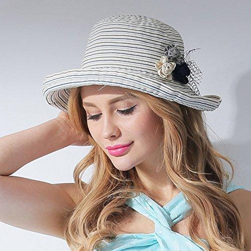 LLZTYM Vrouw/zomer/parasol pet/krulkap/zonnecrème/zonnecrème/zonnescherm/zonnekap/zonnekap/cap/hoofddeksel/cadeau/hoed