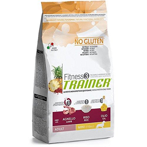 Trainer Fitness 3 No Gluten Mini con Agnello Riso e Olio 2kg
