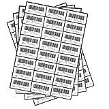 FungLam ラベルシール プリンタ兼用 FBA 配送ラベル FBA適合(100シート, 24面 (70x37mm))