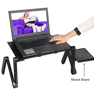Bluefringe Laptop Desk/Stand/Table 360 Degree Portable Adjustable