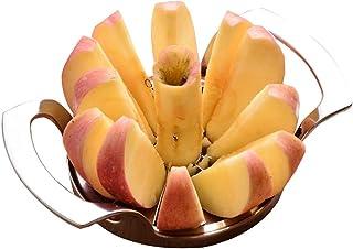 Trancheuse Mandoline coupe-légumes Veggie Dicer Pomme En Acier Inoxydable Slicer Fruit Slicer Fruit Piqûres Outil D'Apple ...