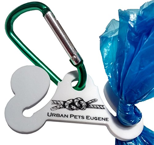 Urban Pets Hands Free Dog Poop Bag Holder Waste Knot