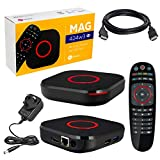 MAG 424w3 Original Infomir & HB-DIGITAL 4K IPTV Set TOP Box Multimedia Player