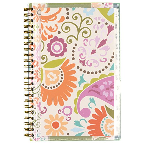AT-A-GLANCE Academic Year Weekly/Monthly Planner, July 2016 - June 2017, Customizable, 4-7/8 x 8 Inch (150-201A)