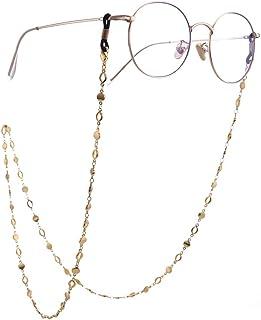 LIKGREAT دائرة سلسلة حامل النظارات للنساء طويلة قلادة اكسسوارات الموضة