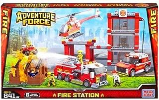 Mega Bloks American Builders Adventure Force Fire Station Construction Building Set (94413)