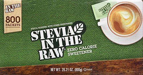 Stevia in the Raw Zero Calorie Sweetener Portion Packets, 800-count