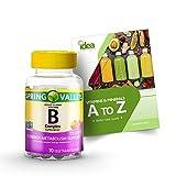 Vitamin B Complex Vegetarian Gummies for Adult +...