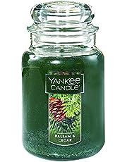 شمعة Yankee Candle Large 2-Wick Tumbler Candle, لون التوت الثلجي المتتالي Large Jar 1062314Z