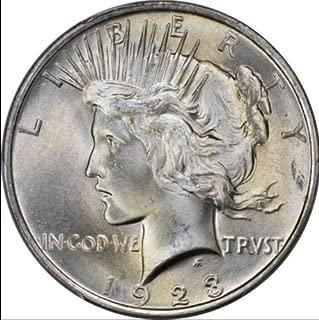 1923 P Peace Dollar $1 Brilliant Uncirculated