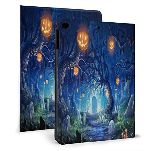 Halloween Holiday Castle Graves Bats Fear Pumpkin iPad air 9.7' Ultra Slim Case iPad Mini 7.9' Smart Stand Cover iPad air1/2 9.7