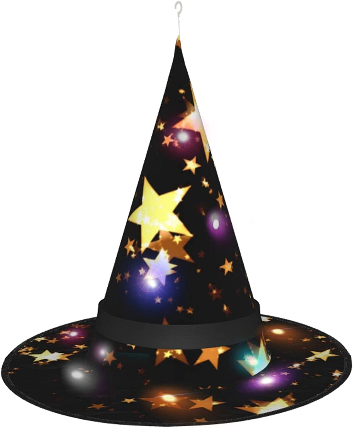 Halloween Witch Hat with Wizard Lights Party for Ranking integrated 1st place outlet