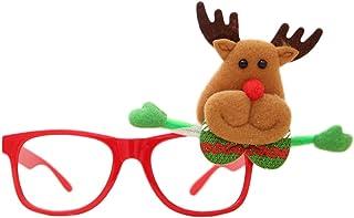 57f7a52c49 Scrox Gafas de Navidad, montura de gafas decorativas, diseño fino y  sencillo