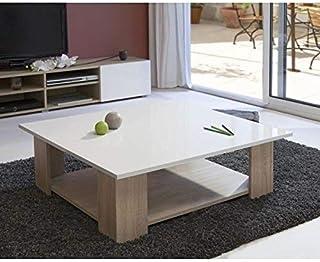 Amazon.fr : table basse carre en bois